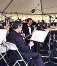 John Sawoski performing with the Capistrano Valley Symphony